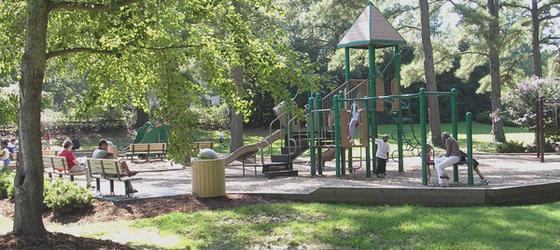 New Cary Park on Walnut Street