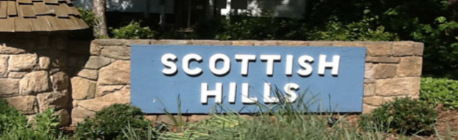 Scottish Hills Neighborhood Cary NC