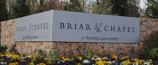 Briar Chapel Subdivision in Chapel Hill