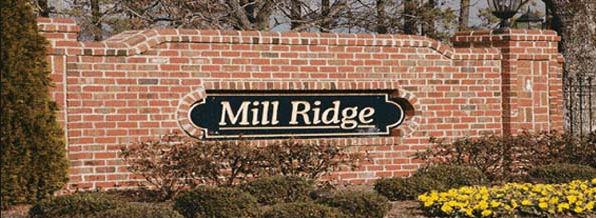 Mill Ridge Subdivision in Fuquay – Varina